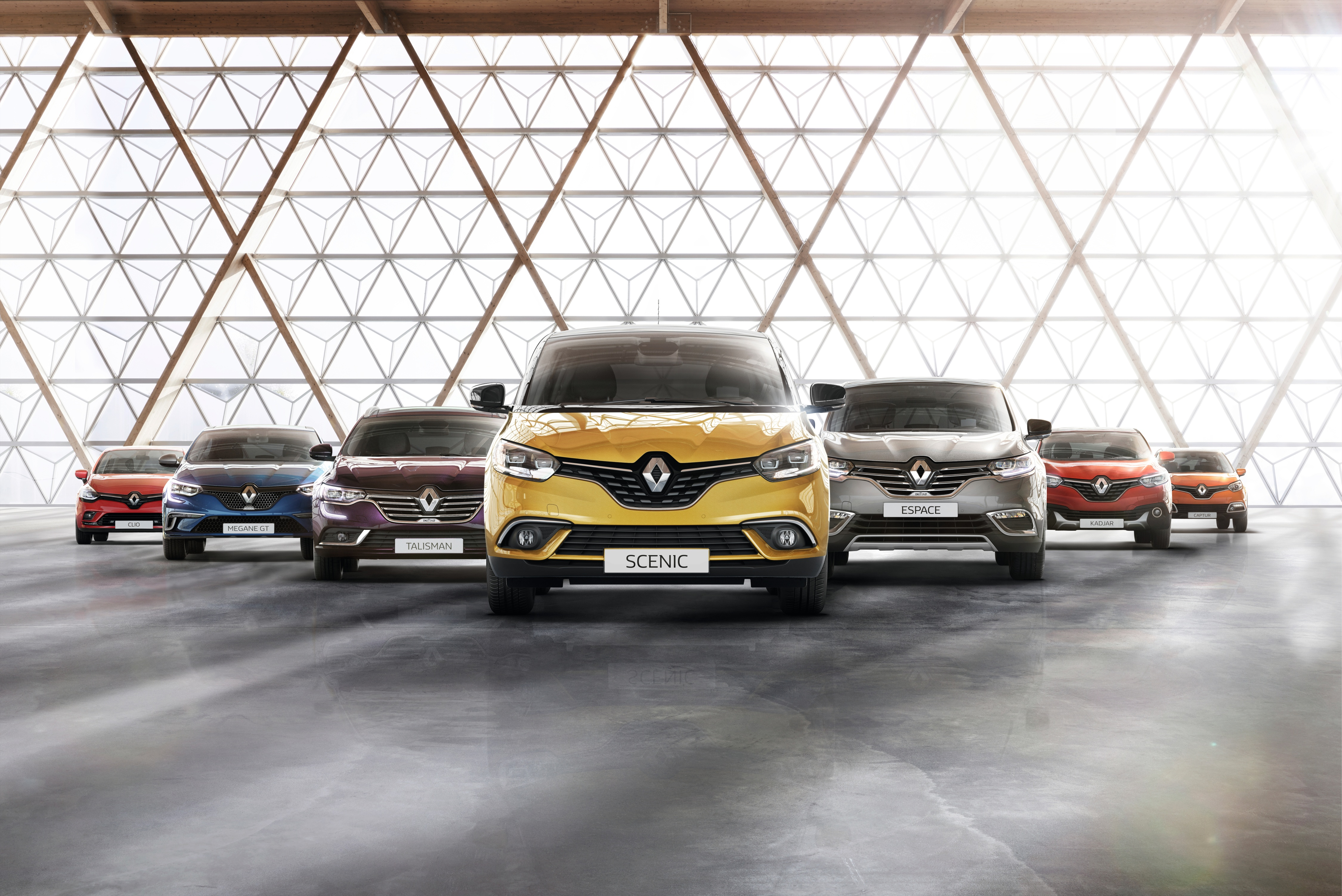 Renault Modellpalette Business