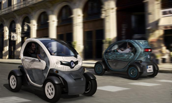 Renault Twizy Duo